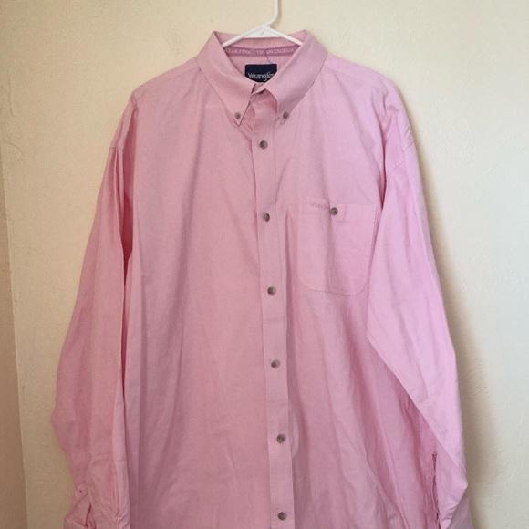 Wrangler Tough Enough To Wear Pink Shirt